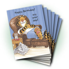 Rory Easy Chair Birthday Greeting Card