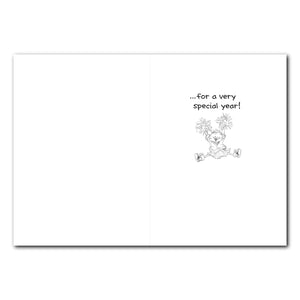Sally Cheer Birthday Greeting Card