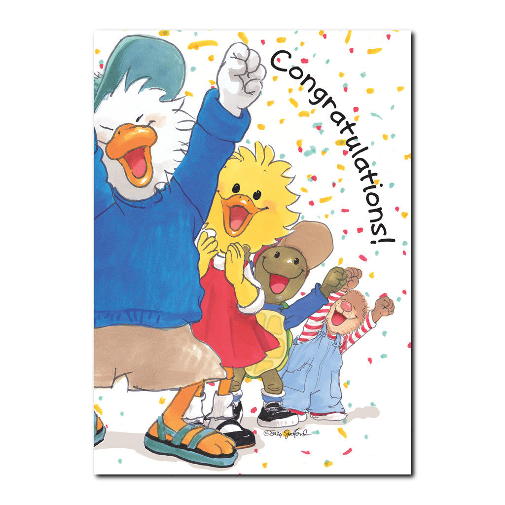 Jack & Friends Congratulations Greeting Card