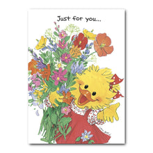 Suzy Ducken knows that a beautiful bouquet of flowers will always help to brighten someone's day!
