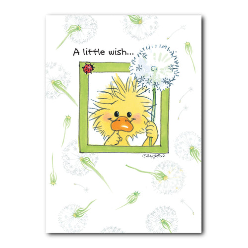 Making Wishes Get Well Greeting Card