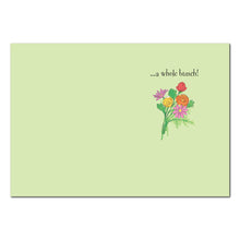 Mandy's Flowers Thank You Greeting Card