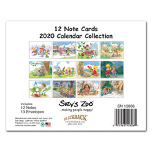 2020 Calendar Note Cards Set - 10806