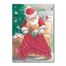 Santa's Arrival Holiday Greeting Card
