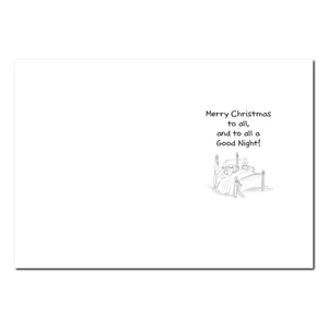 Herkimer Stirring Holiday Greeting Card