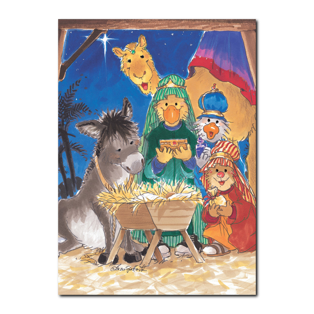 Christmas Pageant Holiday Greeting Card
