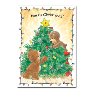 Christmas Bears Holiday Greeting Card