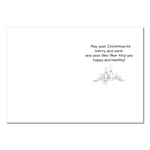 Good Friends Holiday Greeting Card