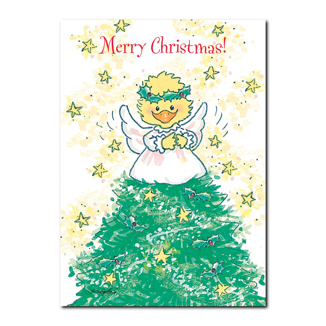 Christmas Angel Holiday Greeting Card