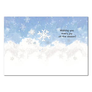 First Snowfall Holiday Greeting Card