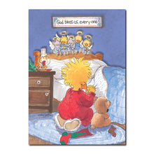 Bedtime Angels Holiday Greeting Card