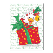 Jack-in-the-box-Quacker Holiday Greeting Card