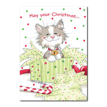 Jamie the Cat Holiday Greeting Card
