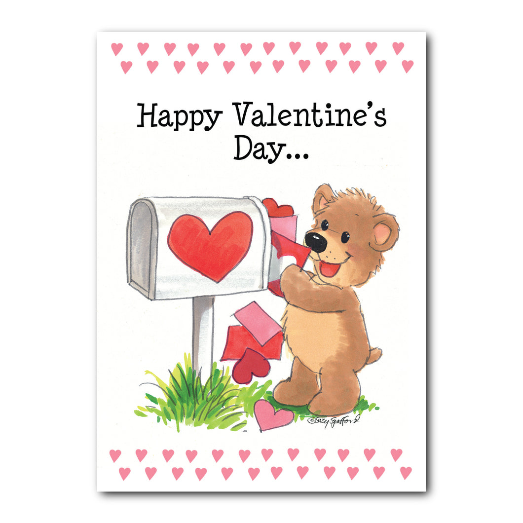 Happy Valentine's Day Greeting Card