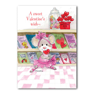 Sweet Tooth Valentine's Day Greeting Card
