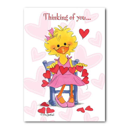 Thinking of You Valentine's Day Greeting Card