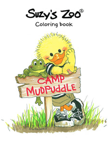 Suzy's Zoo Camp Mudpuddle Coloring Book