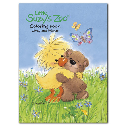 Little Suzy's Zoo Witzy and Friends Coloring Book