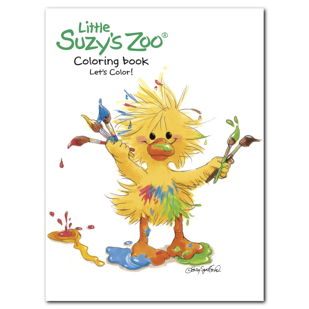 Little Suzy's Zoo Let's Color! Coloring Book