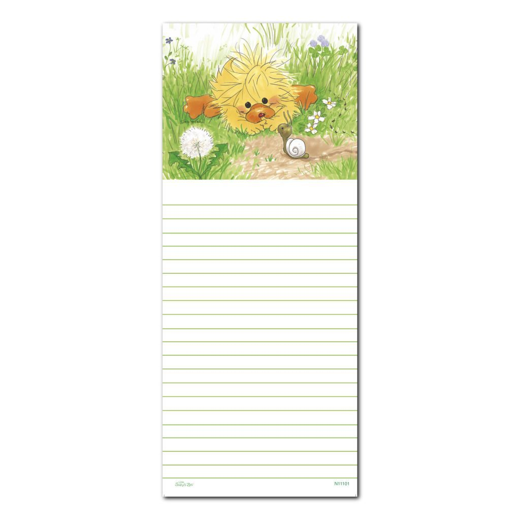 Suzy's Zoo Note Pad,