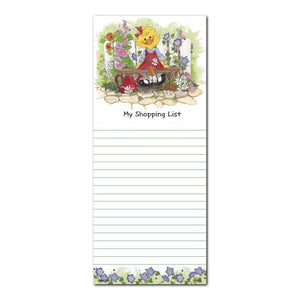 "Suzy's Zoo Note Pad, ""Suzy Ducken's Shopping List"" 11102"