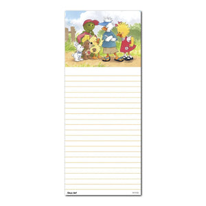 "Suzy's Zoo Note Pad, ""Witzy Tags Along"" 11103"
