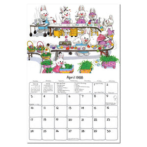 1988 Wall Calendar by Suzy's Zoo