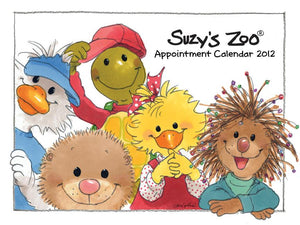 2012 Wall Calendar by Suzy's Zoo