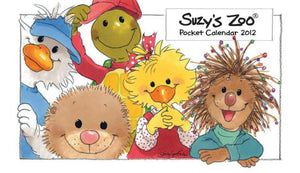 2012 Pocket Calendar by Suzy's Zoo