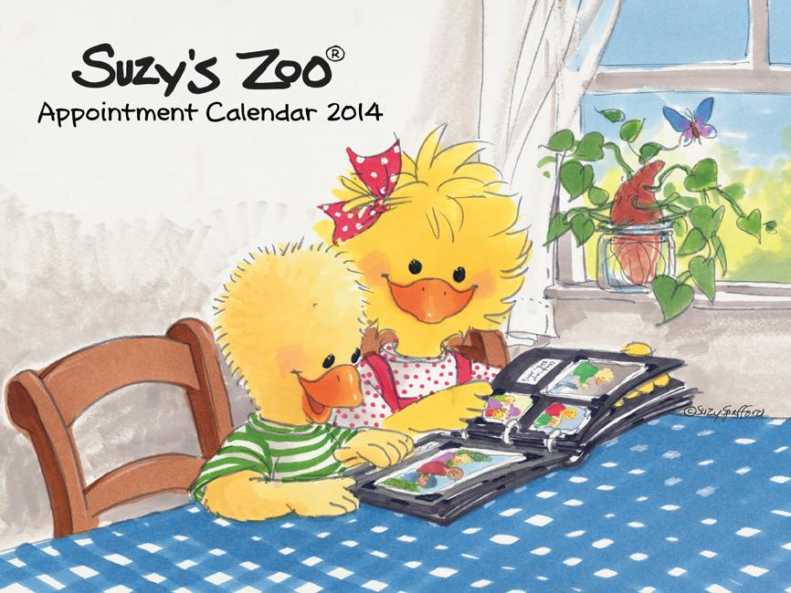 2014 Wall Calendar by Suzy's Zoo