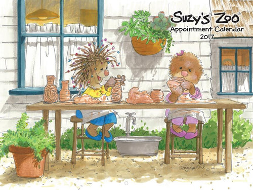 2017 Wall Calendar by Suzy's Zoo