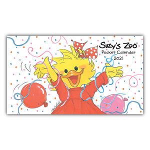 2021 Suzy's Zoo Pocket Calendar (4x7)