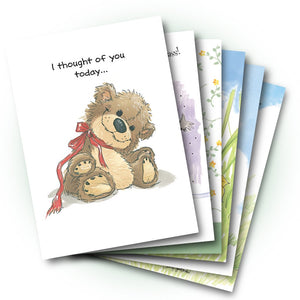 Mixed Cards 6-pack: Friendship Top Sellers