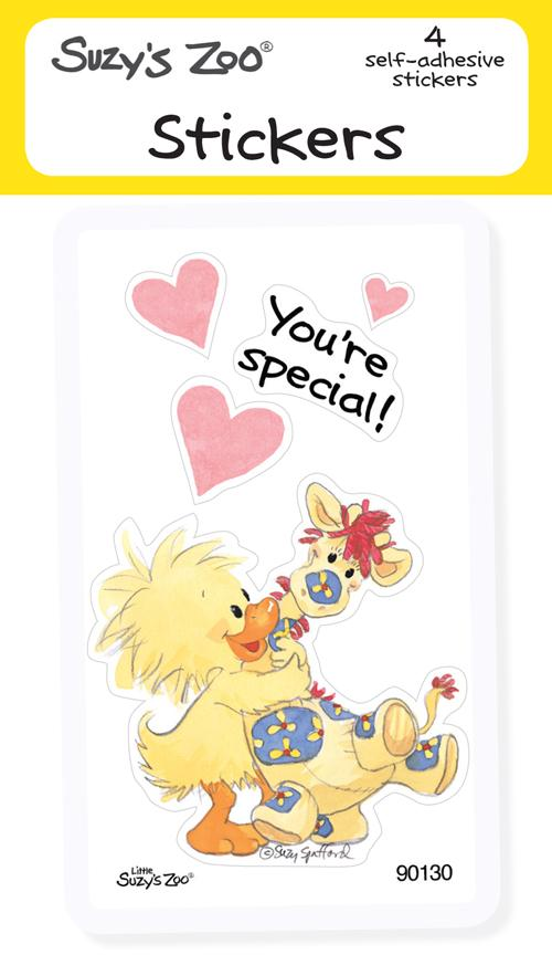 You're Special! Stickers (4-pack)