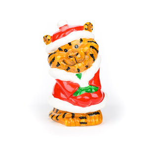 Rory Tiger's Santa Costume Ceramic Coin Bank