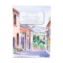 Rue de Larroque Plein Air Watercolor Note Cards