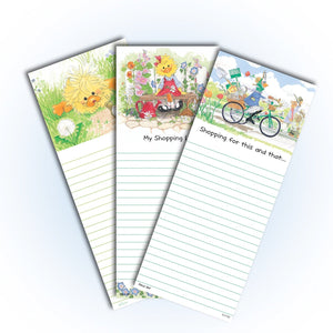 Suzy's Zoo Memo Note Pad, 3-pack variety 11110