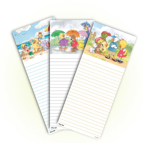 Suzy's Zoo Memo Note Pad, 3-pack variety 11111
