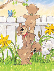 Three Bears Note Cards Set - 10853