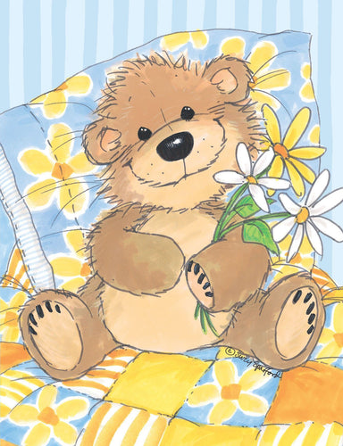 Willy Bear's Daisies Note Cards Set - 10857