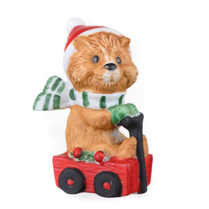 Animal Christmas Figurines
