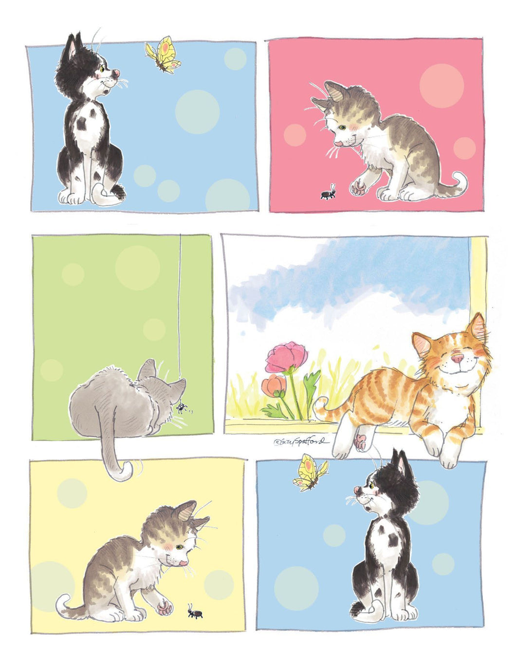 Cats of Duckport Note Cards Set - 10866