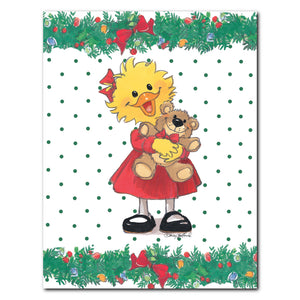 """Suzy Ducken"" Christmas Note Cards Set - 10894"