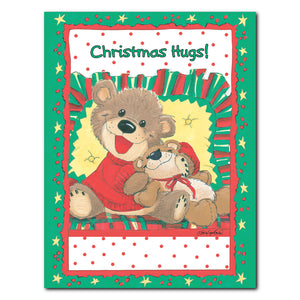 """Christmas Hugs"" Christmas Note Cards Set - 10895"
