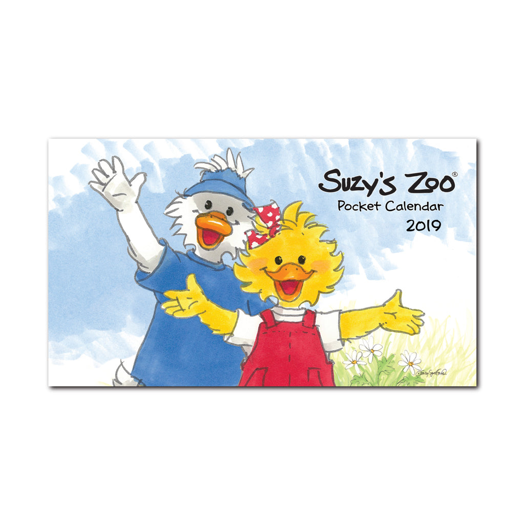 2019 Collectible Pocket Calendar by Suzy's Zoo