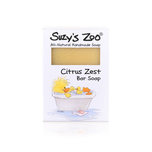 Suzy's Zoo Bar Soap, Citrus Zest