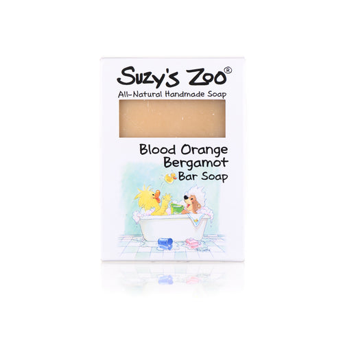 Suzy's Zoo Bar Soap, Bergamot Orange