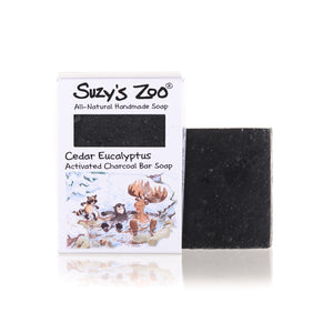 Suzy's Zoo Bar Soap, Cedar Eucalyptus
