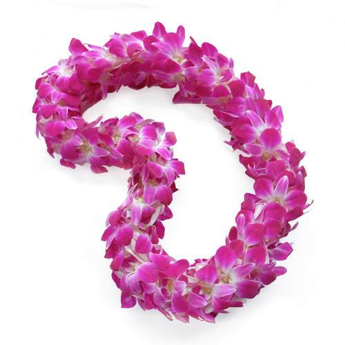Double Purple Lei