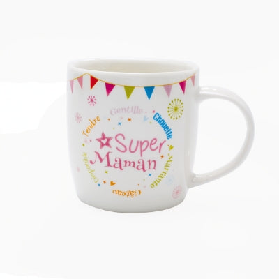 Mug super maman collection festive